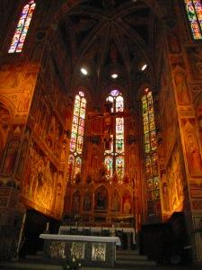 Florence Santa Croce altar